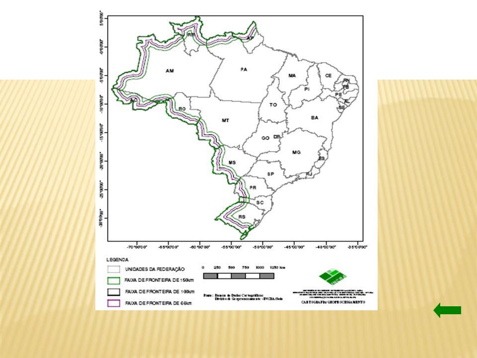 POPULAÇÃO URBANA E DENSIDADE RURAL NA FAIXA DE FRONTEIRA Fonte: http://www.igeo.ufrj.br/fronteiras/mapas/map016.htm - 2000http://www.igeo.ufrj.br/fronteiras/mapas/map016.htm