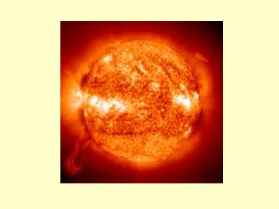 ORIGEM DO SOL ATRAÇÃO DE GASES E POEIRAS AUMENTO DA MASSA CENTRAL AUMENTO DA FORÇA GRAVITACIONAL MAIOR ATRAÇÃO DE GASES E POEIRAS TEMPERATURA DO SOL (