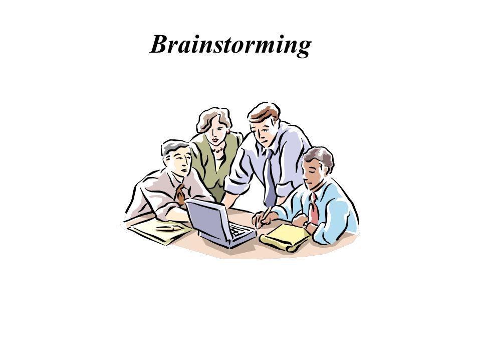 Definição de Brainstorming Brainstorming é uma dinâmica de grupo em que as pessoas, de forma organizada e com oportunidades iguais, fazem um grande esforço mental para opinar sobre determinado assunto.