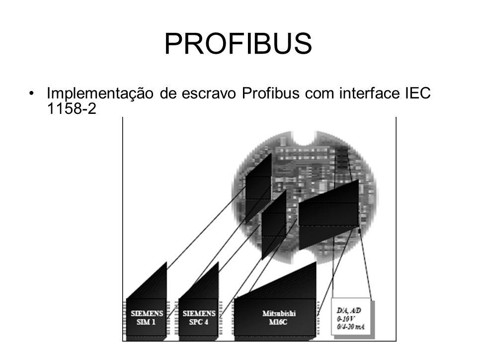 Implementação de escravo Profibus com interface IEC 1158-2