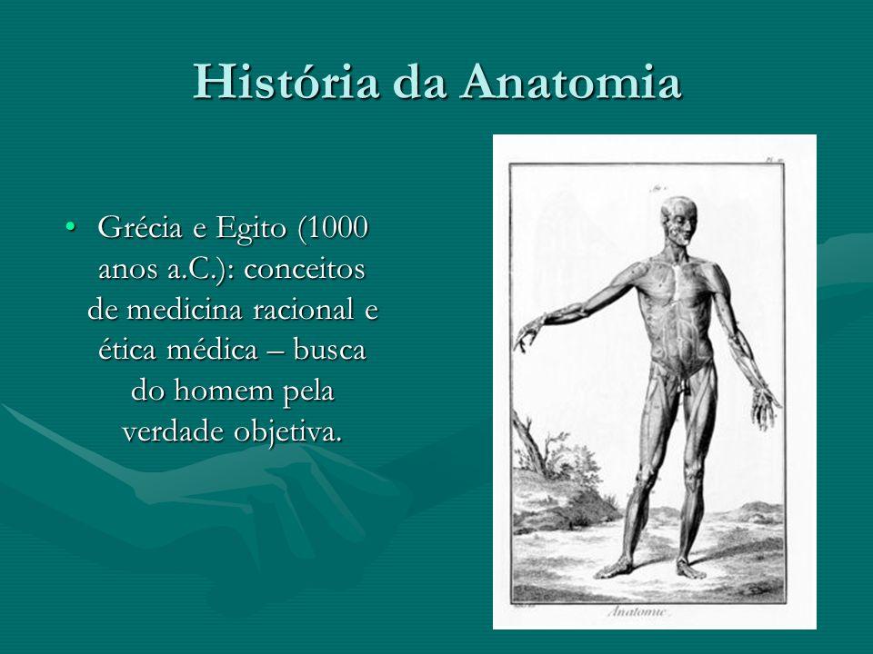 História da Anatomia Egípcios: Técnicas de conservação do corpo humano:Egípcios: Técnicas de conservação do corpo humano: - Mumificação (natural) - Mumificação (natural) - Embalsamamento (química) - Embalsamamento (química)