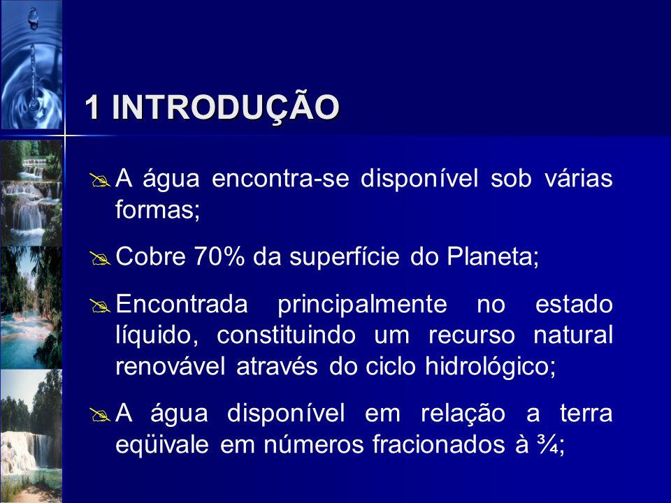 CAPÍTULO 03 - O MEIO AQUÁTICO Prof. Cybelle Luiza Barbosa Musse – ENG/UCG