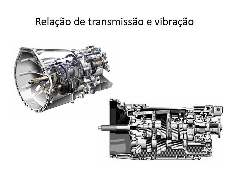 Relação de transmissão e vibração