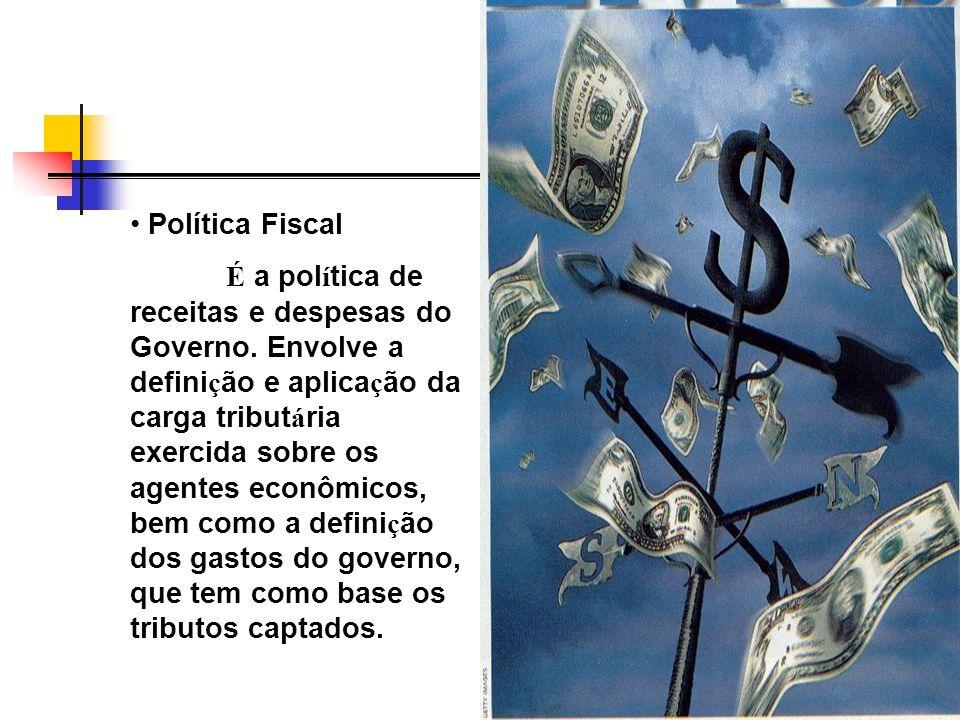 Política Cambial Est á, fundamentalmente, baseada na administra ç ão da taxa (ou taxas) de câmbio e no controle das opera ç ões cambiais.