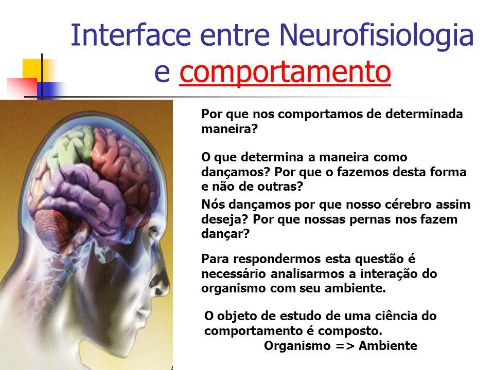 Interface entre Neurofisiologia e comportamentocomportamento Por que nos comportamos de determinada maneira? O que determina a maneira como dançamos?