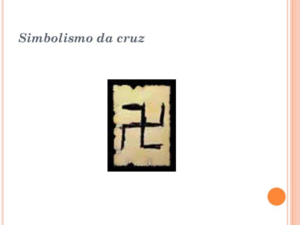 Cruz Ansata: Um dos mais importantes símbolos da cultura egípcia. A Cruz Ansata consistia em um hieróglifo representando a regeneração e a vida eterna