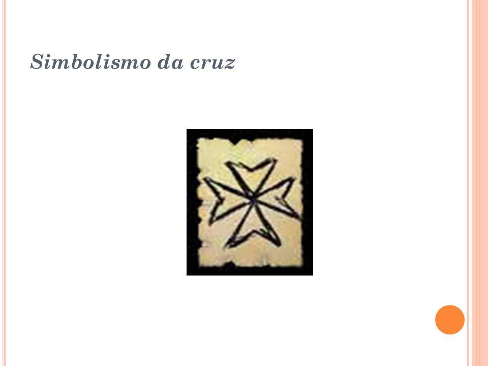 Cruz Rosa-Cruz: Os membros da Rosa Cruz costumam explicar seu significado interpretando- a como o corpo de um homem, que com os braços abertos saúda o