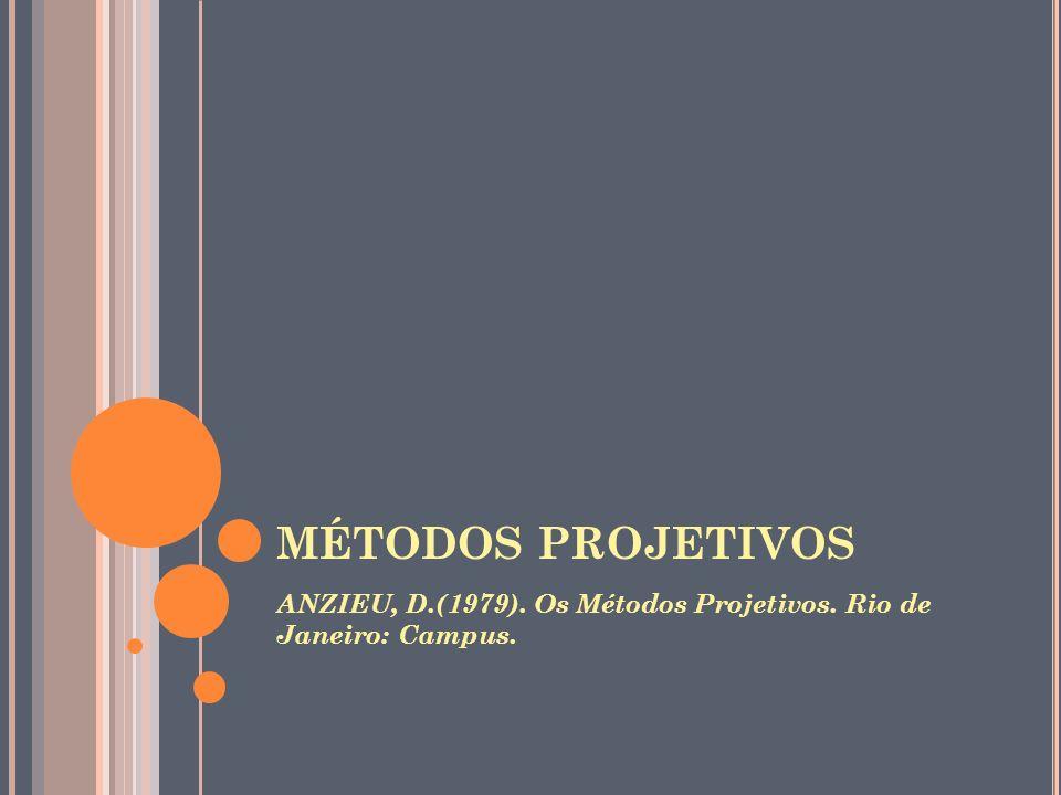 S ÍMBOLO AUGRAS, M.(1980). A Dimensão Simbólica : o simbolismo nos testes psicológicos.