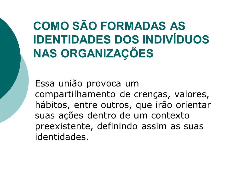 Cultura Organizacional e Identidade dos Indivíduos 2.