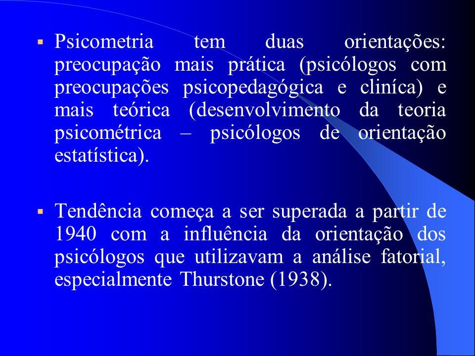 História da avaliação psicológica História da avaliação psicológica 1) A década de Galton: 1880.