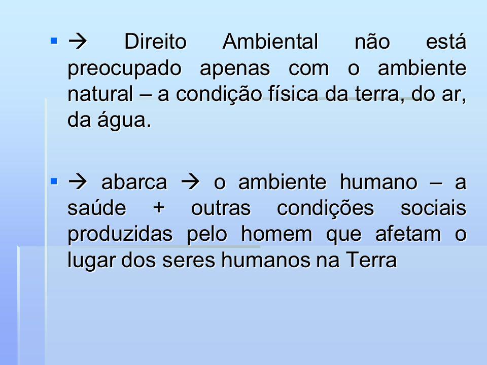 De outro lado a legislação brasileira tem optado por usar a expressão meio ambiente ao tratar da matéria - CF/88 De outro lado a legislação brasileira tem optado por usar a expressão meio ambiente ao tratar da matéria - CF/88 Direito Ambiental ou Do Ambiente.