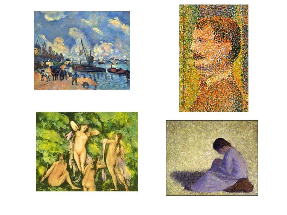 MUITO ALÉM DO IMPRESSIONISMO Van Gogh pode ser considerado uma terceira influência decisiva sobre a arte do século XX.