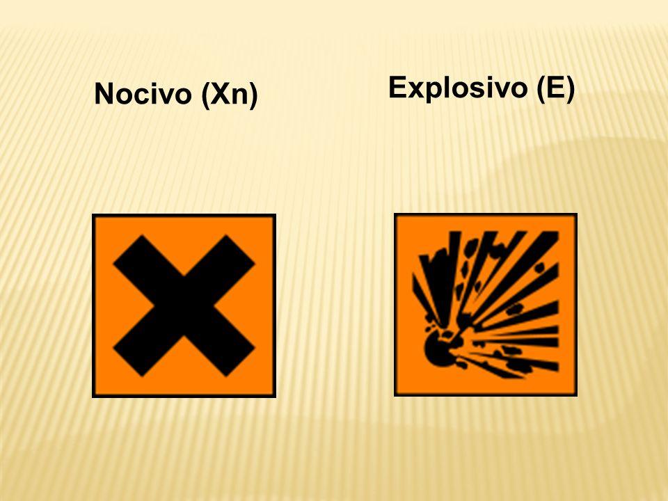 Nocivo (Xn) Explosivo (E)