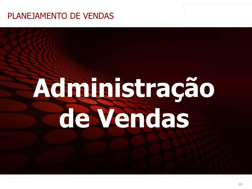 euler@imvnet.com.br | www.slideshare.net/eulernogueira 24 PLANEJAMENTO DE VENDAS Administração de Vendas