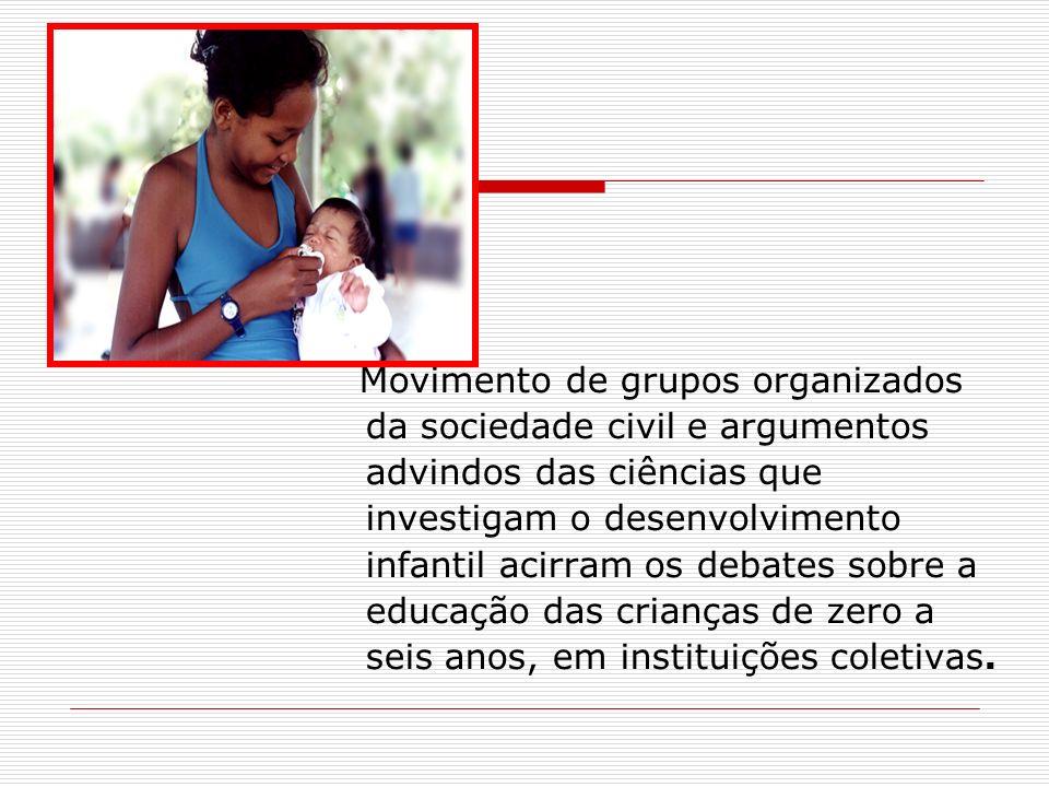 Movimento de grupos organizados da sociedade civil e argumentos advindos das ciências que investigam o desenvolvimento infantil acirram os debates sob