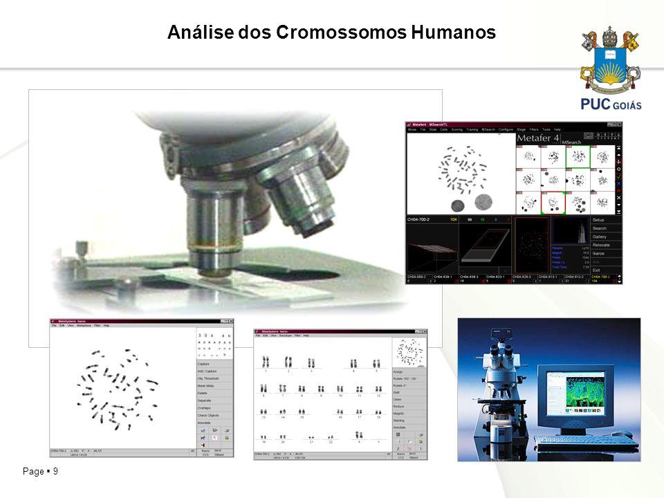 Page 9 Análise dos Cromossomos Humanos