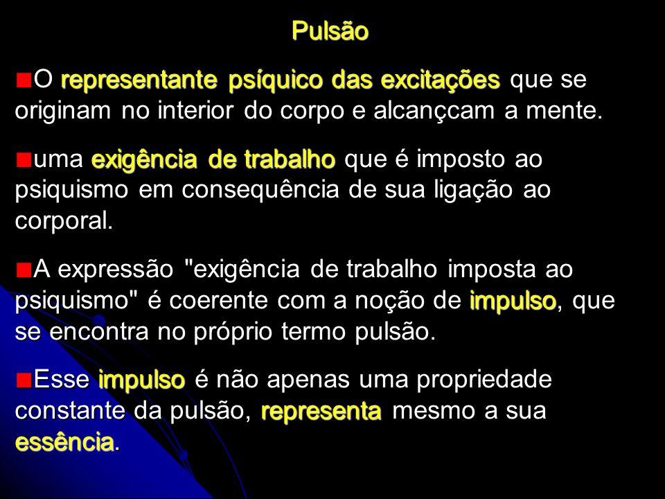 – No início, ocorre uma indiferenciação inicial entre os dois gêneros de pulsões (autoconsevação e sexual) que se encontram misturadas entre si (p.