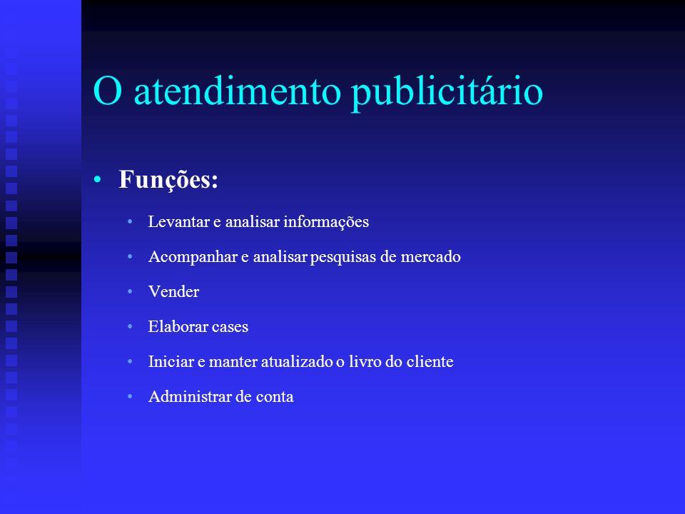 Referências CORREIA, Roberto.O atendimento na agência de propaganda.