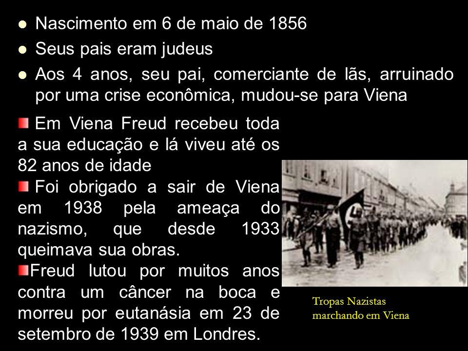 Nascimento em 6 de maio de 1856 Nascimento em 6 de maio de 1856 Seus pais eram judeus Seus pais eram judeus Aos 4 anos, seu pai, comerciante de lãs, a