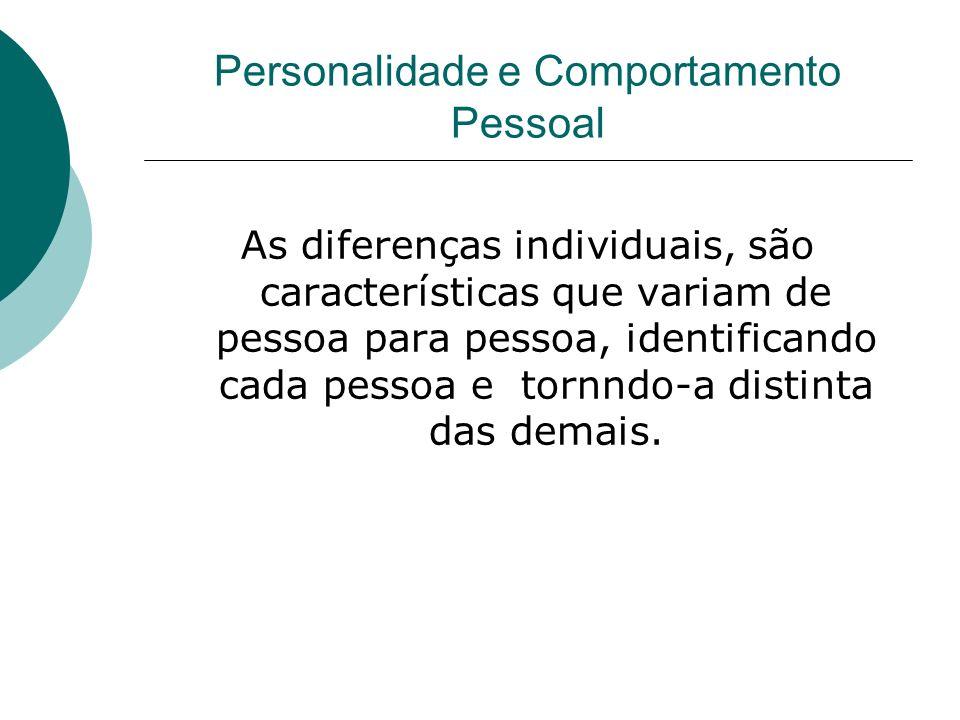 As diferenças individuais, são características que variam de pessoa para pessoa, identificando cada pessoa e tornndo-a distinta das demais.