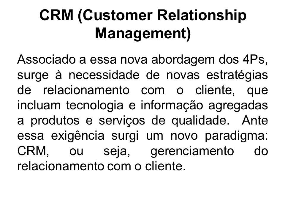 Comparação entre o foco do marketing tradicional e o foco do marketing de relacionamento CaracterísticasFoco em transações Foco em relacionamentos Foc