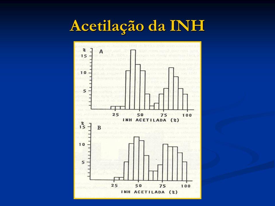 Acetilação da INH