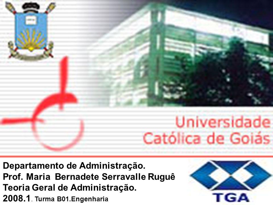 Idalberto Chiavenato : A empresa como um sistema de subsistemas.