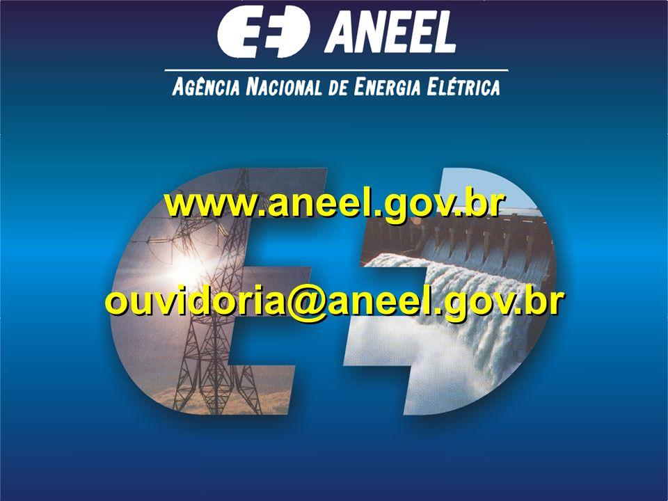 www.aneel.gov.br ouvidoria@aneel.gov.br www.aneel.gov.br ouvidoria@aneel.gov.br