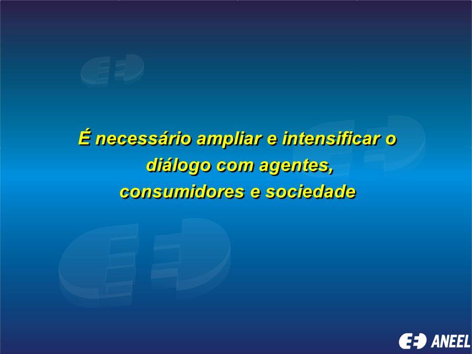 Aneel e a Participação da Sociedade Aneel e a Participação da Sociedade Por meio das Agências Estaduais conveniadas - Descentralização Relacionamento