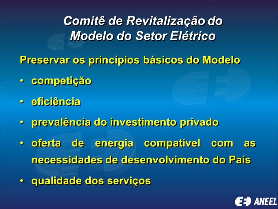 Marco legal incompleto Falta de uma política energética e planejamento de longo prazo Falta de percepção clara do papel da ANEEL pelo governo e socied