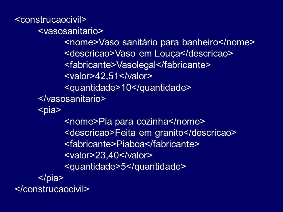 Vaso sanitário para banheiro Vaso em Louça Vasolegal 42,51 10 Pia para cozinha Feita em granito Piaboa 23,40 5