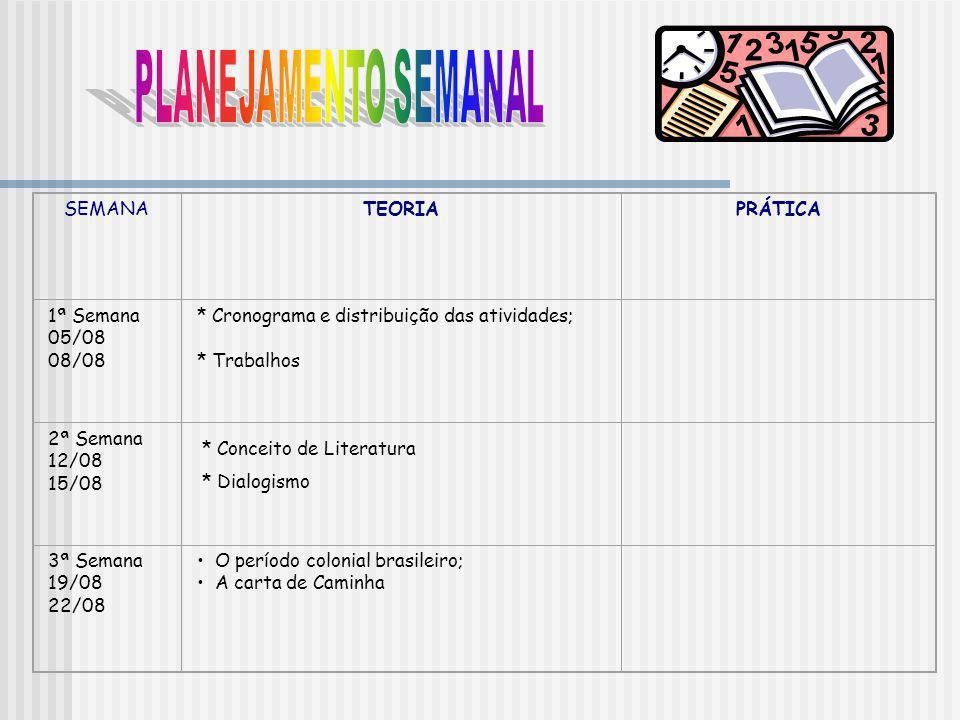 4ª Semana 26/08 29/08 Pero de Magalhães Gandavo; Fernão Cardim.
