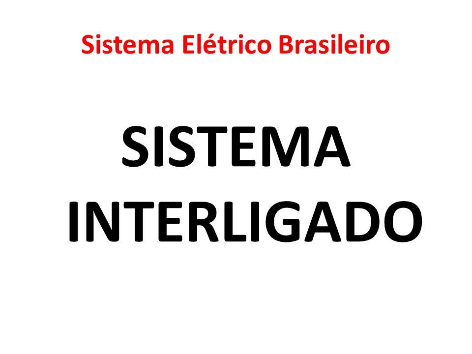 Sistema Elétrico Brasileiro SISTEMA INTERLIGADO