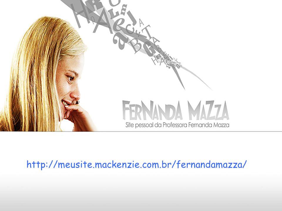 http://meusite.mackenzie.com.br/fernandamazza/