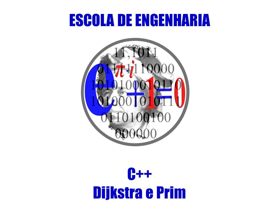 ESCOLA DE ENGENHARIA C++ Dijkstra e Prim