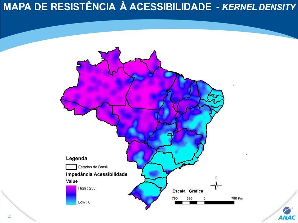 5 Panorama da Infra-Estrutura Aeroportuária Aeroportos Públicos Brasileiros Fonte: Superintendência de Infra-Estrutura Aeroportuária / ANAC