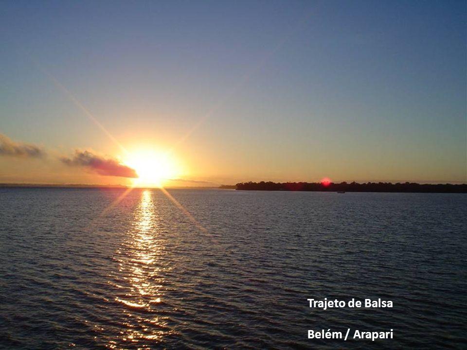 Trajeto de Balsa Belém / Arapari