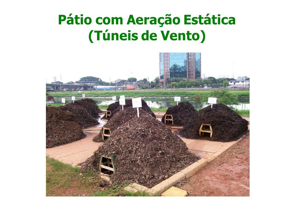 Pátio com Aeração Estática (Túneis de Vento)