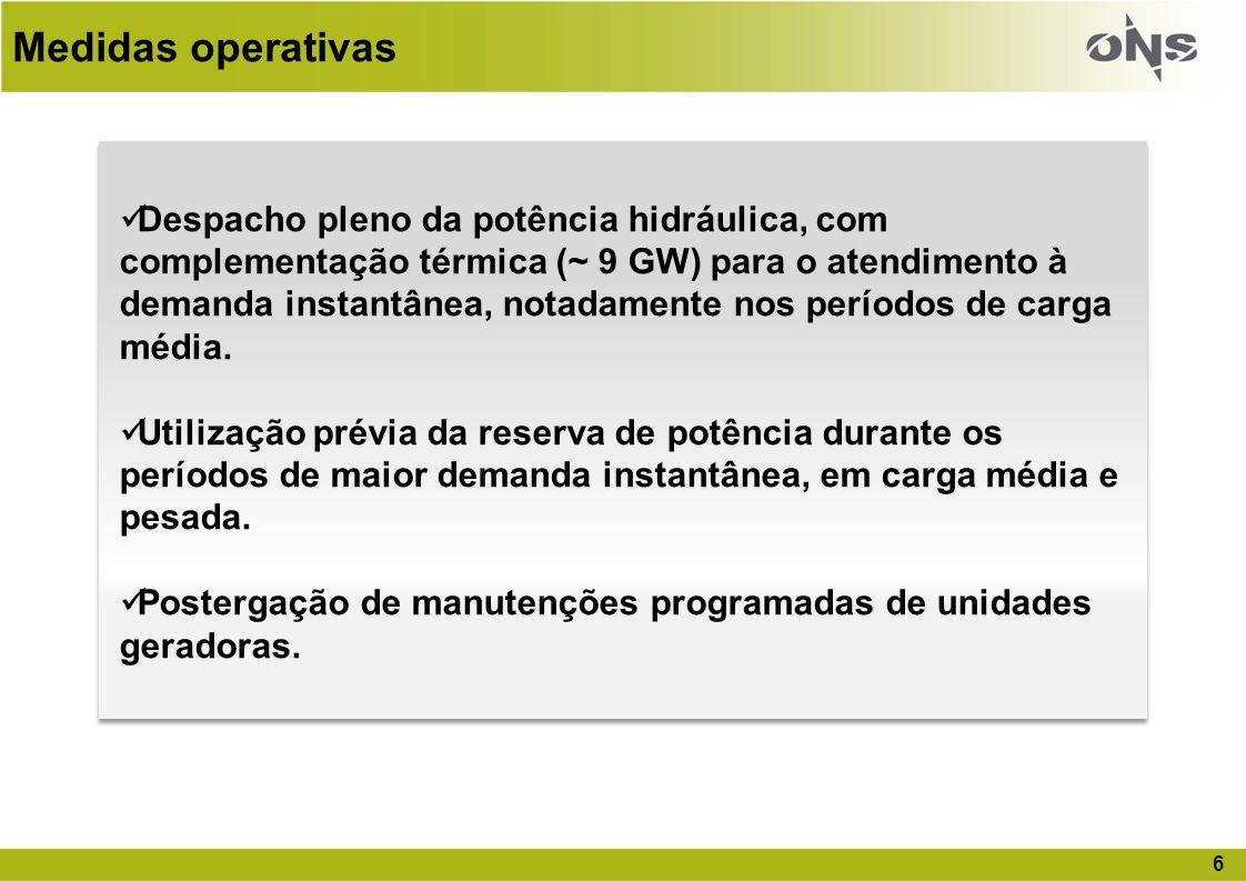 17 Projeções de Carga de Demanda – PEN 2011 (MW) * Considera a interligação Tucuruí – Manaus – Macapá em 2013 Ano20112012201320142015 SIN – MW69.66074.40979.40582.94086.496 Taxa crescimento4,8%6,8 %6,7%*4,5%4,3%