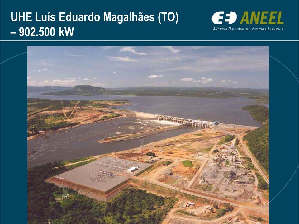 UHE Luís Eduardo Magalhães (TO) – 902.500 kW
