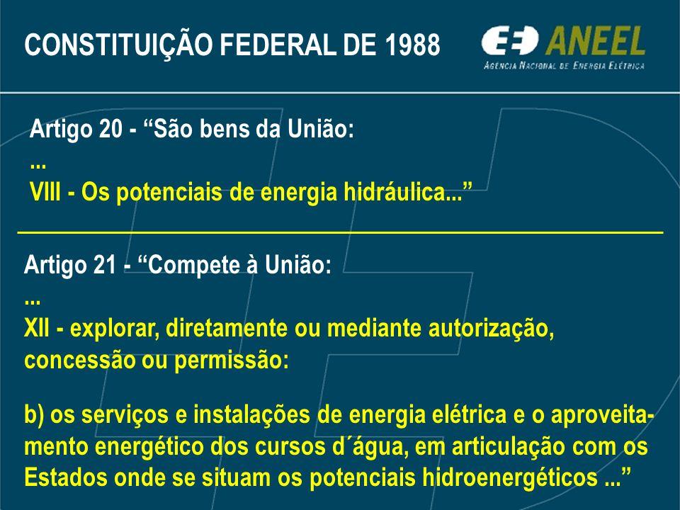 Fiscalizar as instalações de geração de energia elétrica Serviço Público Produção independente Autoprodução em construção em operação hidrelétricas termelétricas eólicas outras fontes FISCALIZAR O QUE?