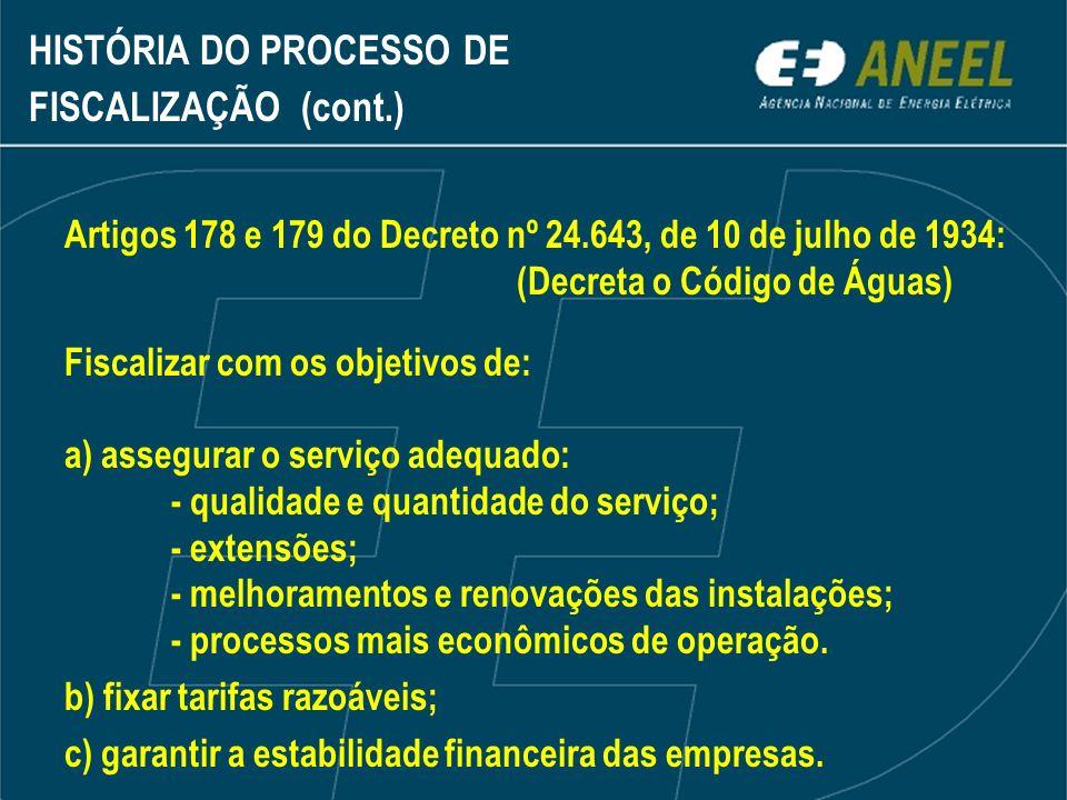É fundamental a ação integrada das superintendências de fiscalização de geração e dos serviços de eletricidade da ANEEL, tendo em vista a operação interligada do sistema elétrico brasileiro.