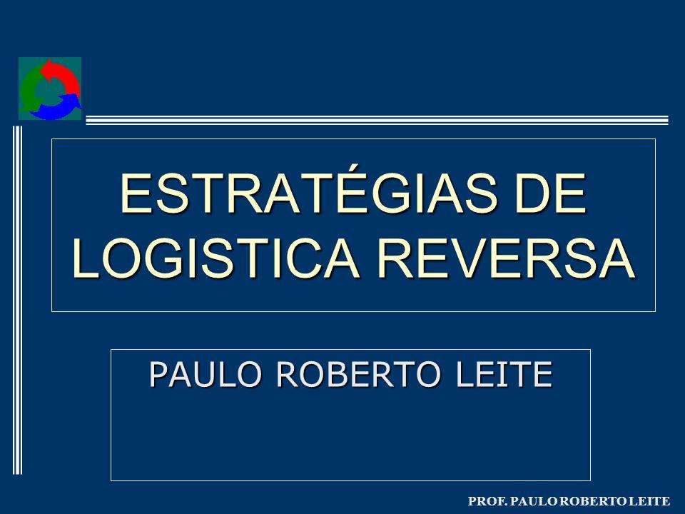 PROF. PAULO ROBERTO LEITE ESTRATÉGIAS DE LOGISTICA REVERSA PAULO ROBERTO LEITE