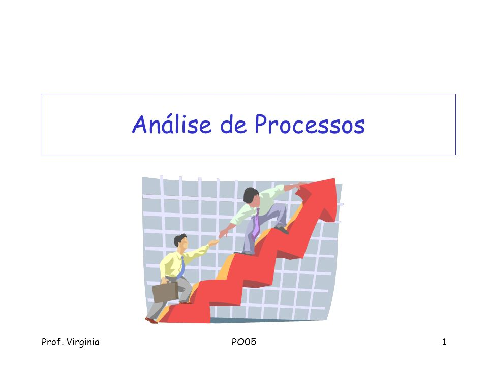 Prof. VirginiaPO051 Análise de Processos