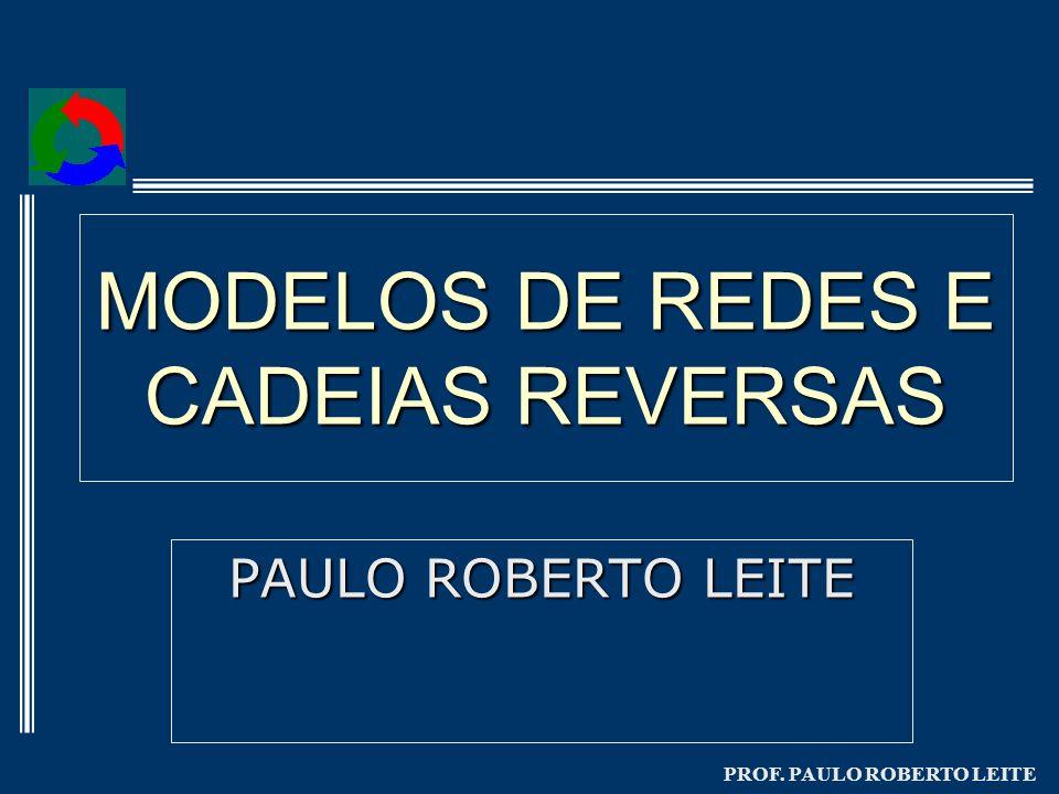 PROF. PAULO ROBERTO LEITE MODELOS DE REDES E CADEIAS REVERSAS PAULO ROBERTO LEITE