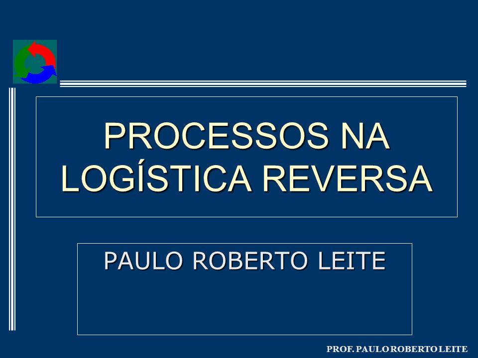 PROF. PAULO ROBERTO LEITE PROCESSOS NA LOGÍSTICA REVERSA PAULO ROBERTO LEITE