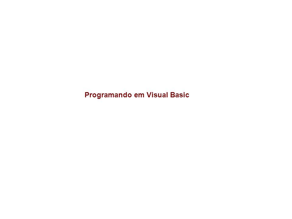 Programando em Visual Basic