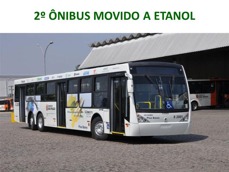 Fornecer o motor e chassi Parceiros Encarroçar o ônibus Fornecer o etanol para testes Fornecer 20% do aditivo para o etanol
