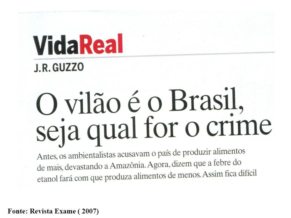 Fonte: Revista Exame ( 2007)