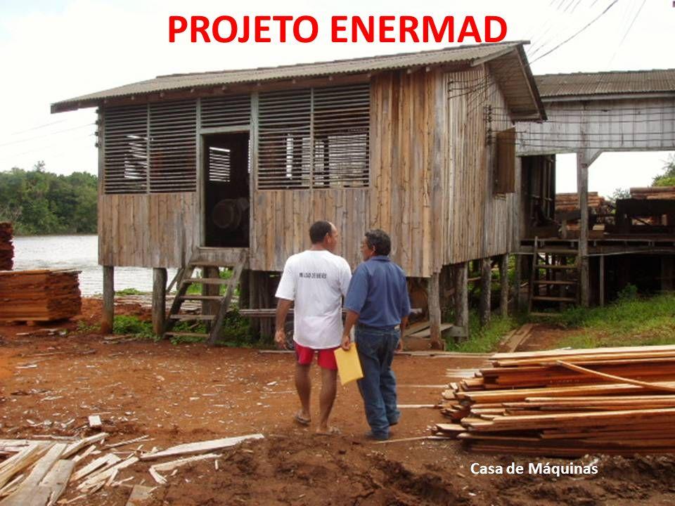 Casa de Máquinas PROJETO ENERMAD